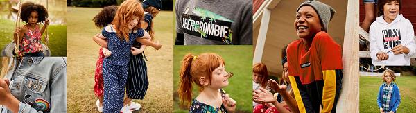 Abercrombie kids free shipping
